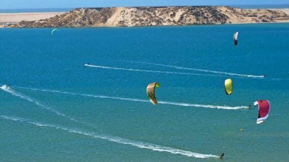 Kitesurf et windsurf a Dakhla